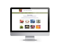 Website Bloem by Marjan